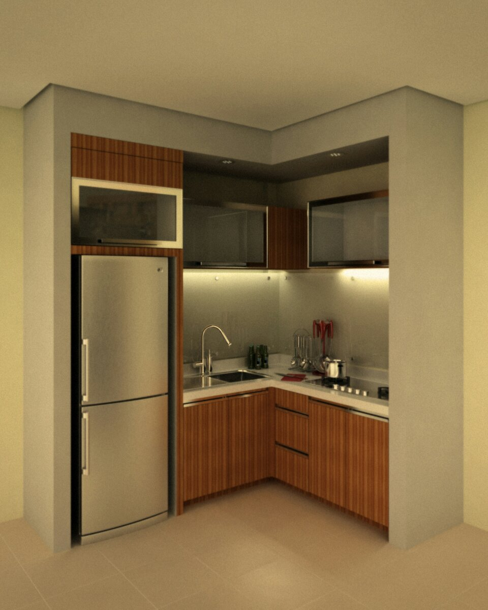 small kitchen set kotak ide